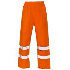 Supertouch Hi Vis Orange Overtrousers