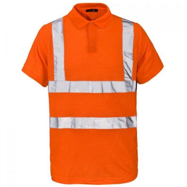 Supertouch Hi Vis Orange Poloshirt